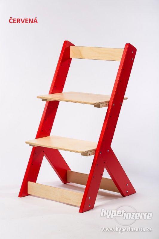 Rostoucí židle OMEGA I - různá barevná kombinace - foto 5