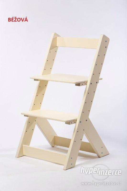 Rostoucí židle OMEGA I - různá barevná kombinace - foto 8