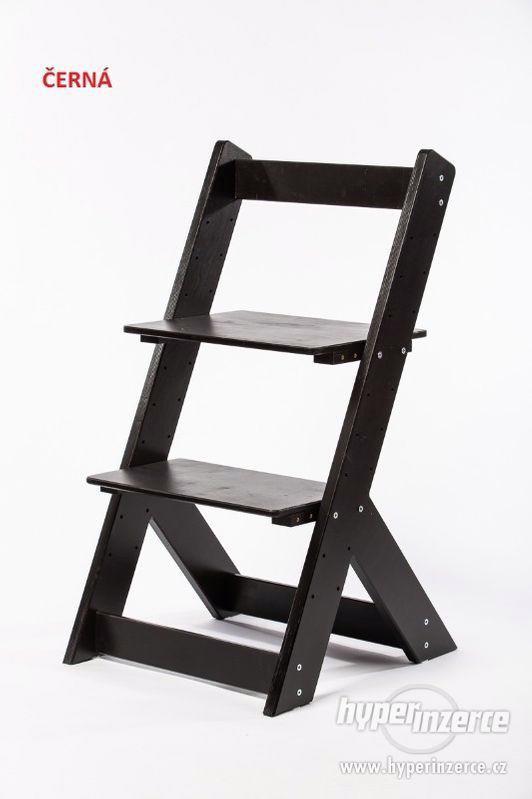 Rostoucí židle OMEGA I - různá barevná kombinace - foto 9