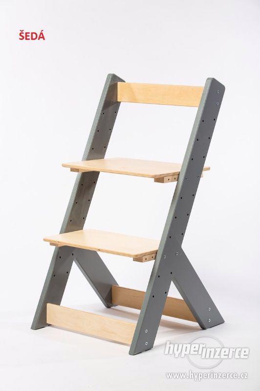 Rostoucí židle OMEGA I - různá barevná kombinace - foto 10
