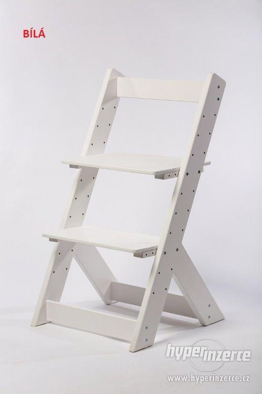 Rostoucí židle OMEGA I - různá barevná kombinace - foto 11