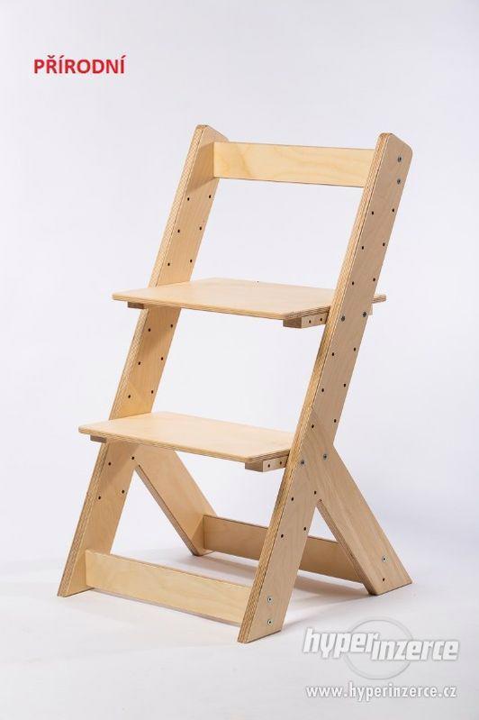 Rostoucí židle OMEGA I - různá barevná kombinace - foto 12