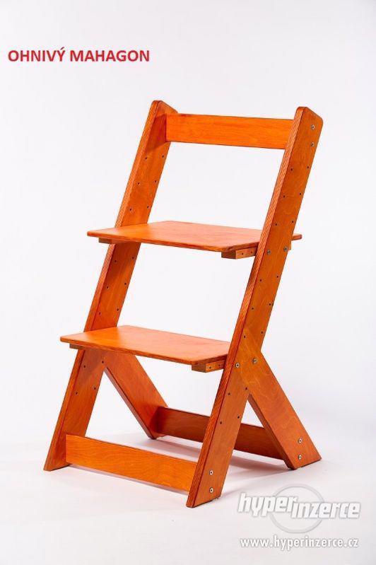 Rostoucí židle OMEGA I - různá barevná kombinace - foto 13