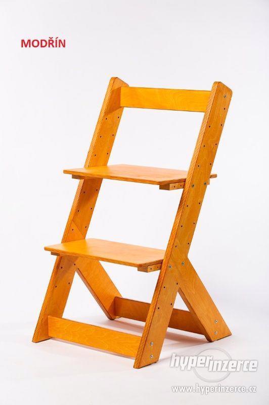 Rostoucí židle OMEGA I - různá barevná kombinace - foto 14