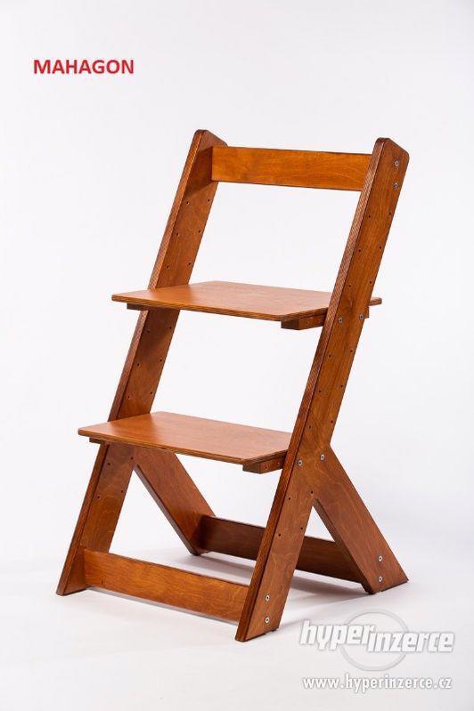 Rostoucí židle OMEGA I - různá barevná kombinace - foto 15