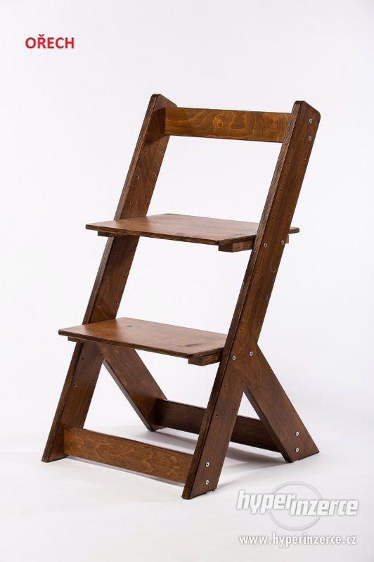 Rostoucí židle OMEGA I - různá barevná kombinace - foto 16