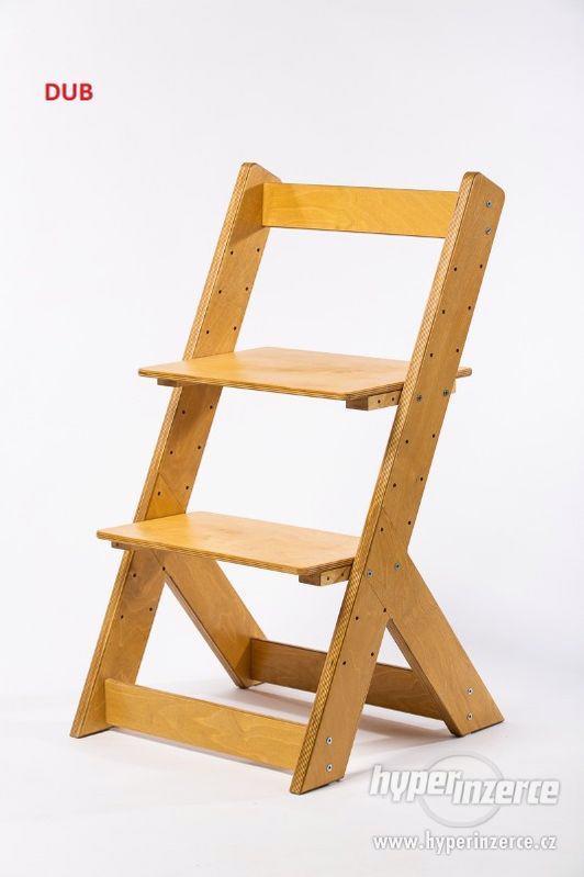 Rostoucí židle OMEGA I - různá barevná kombinace - foto 17