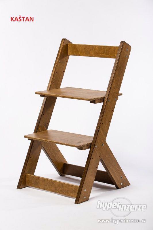 Rostoucí židle OMEGA I - různá barevná kombinace - foto 18