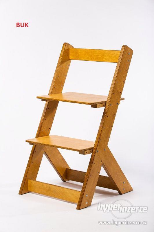 Rostoucí židle OMEGA I - různá barevná kombinace - foto 19