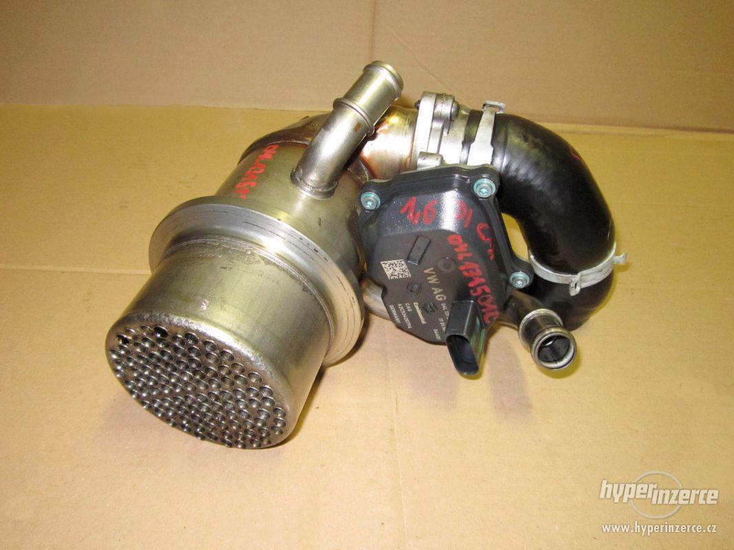 Orig VW klapka 04L131501C + chladič 1,6TDI 2,0TDI - foto 1