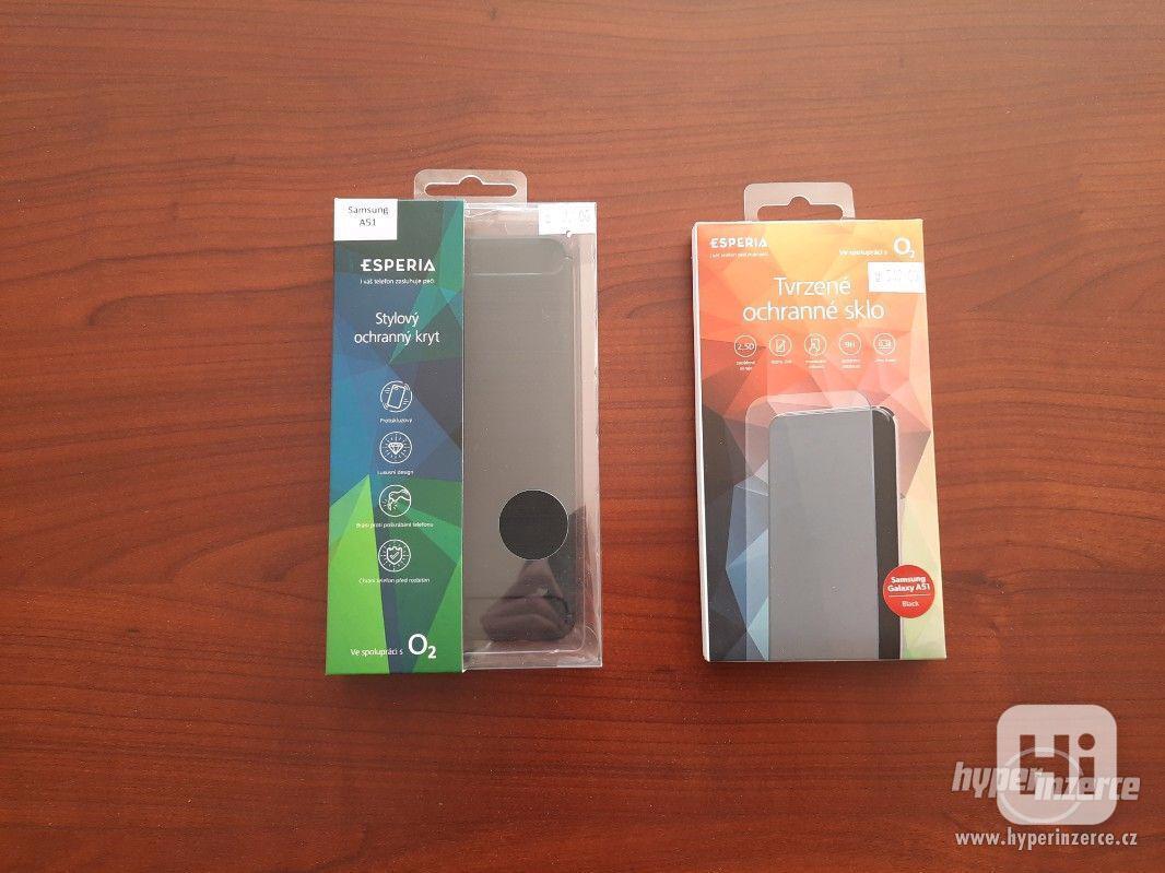Nové tvrzené sklo + ochranný kryt na Samsung A51 - foto 1