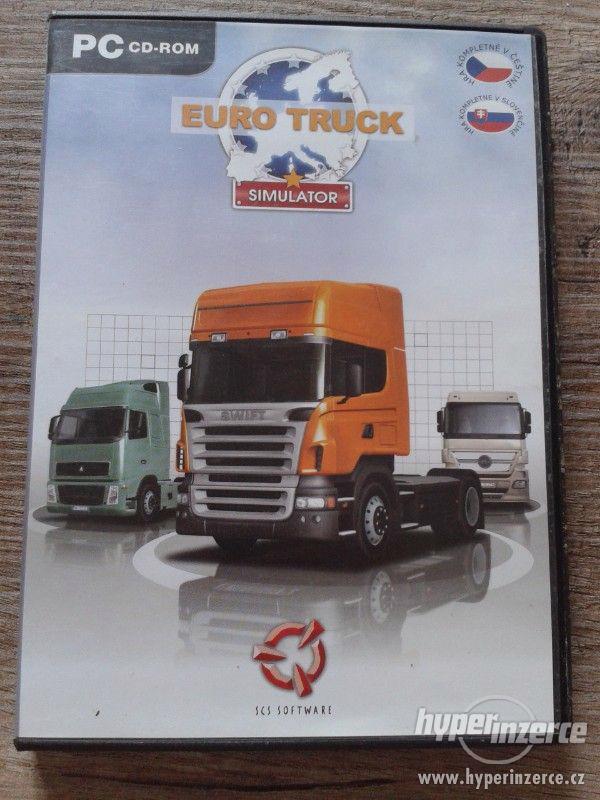 PC hra Euro Truck Simulator