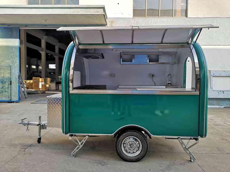 ERZODA Prodejní stánek , Food Truck , Gastro Trailers 2.8M