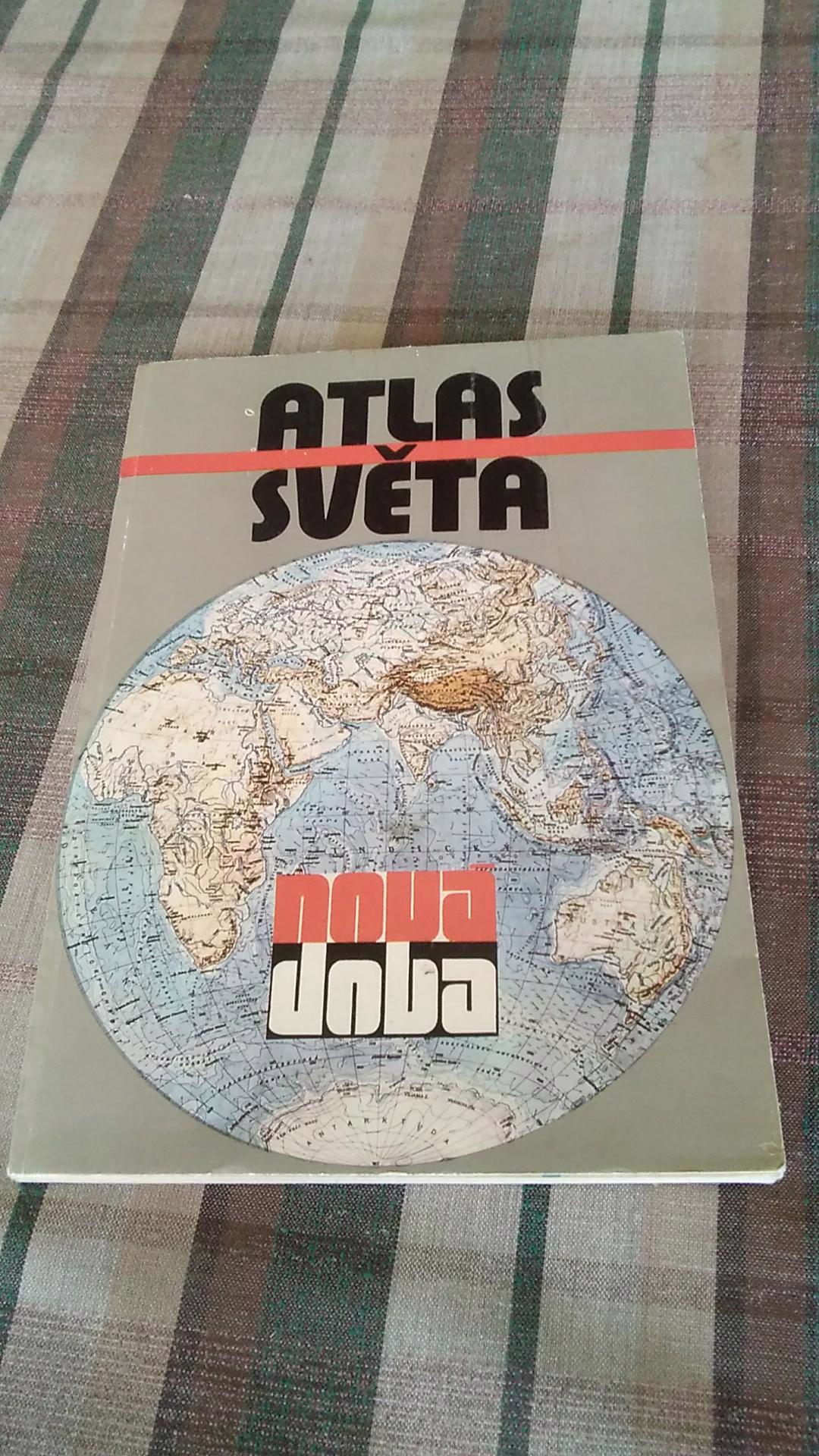 Atlas světa - nová doba - foto 1