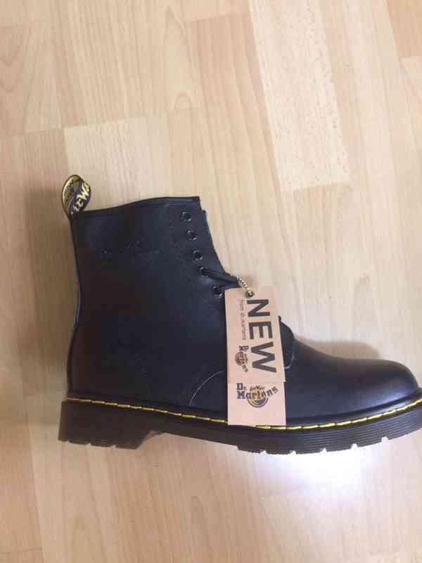 Prodám zcela nové, nenošené pánské boty značky Dr. Martens.