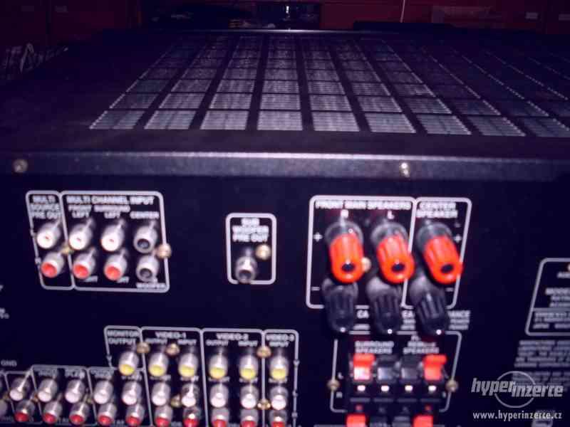 onkyo receiver ,dálka a návod ,výborný stav, 2krát 100w,sinu - foto 7