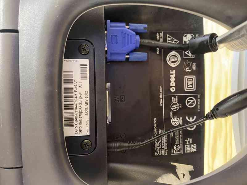 LCD monitor DELL 1503FP - foto 2