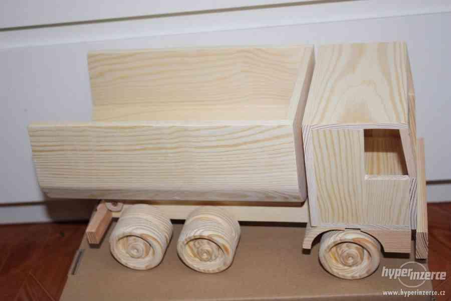 Celo dřevěné Nákladní auto