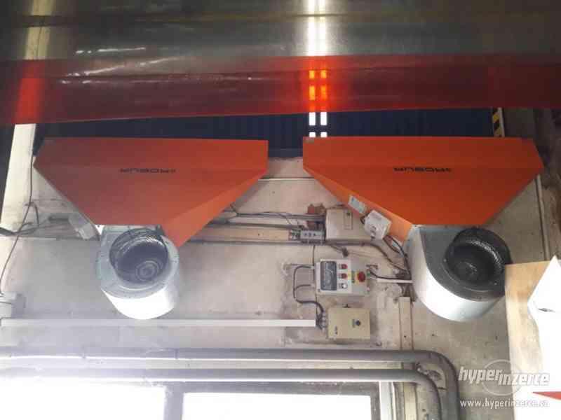 Prodám vzduchové vratové clony ROBUR  R4S - foto 1