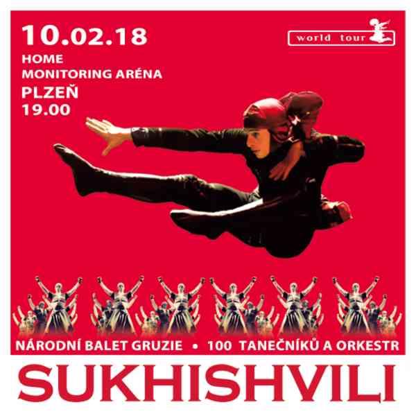 Národní balet Gruzie SUKHISHVILI