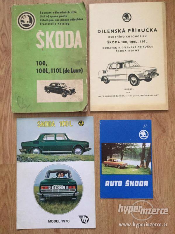 Škoda 100 katalog ND, díl. příručka, prospekty, ceny v textu - foto 1