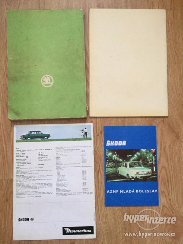 Škoda 100 katalog ND, díl. příručka, prospekty, ceny v textu - foto 2