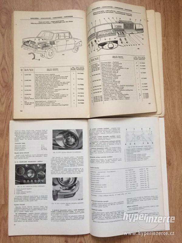 Škoda 100 katalog ND, díl. příručka, prospekty, ceny v textu - foto 3