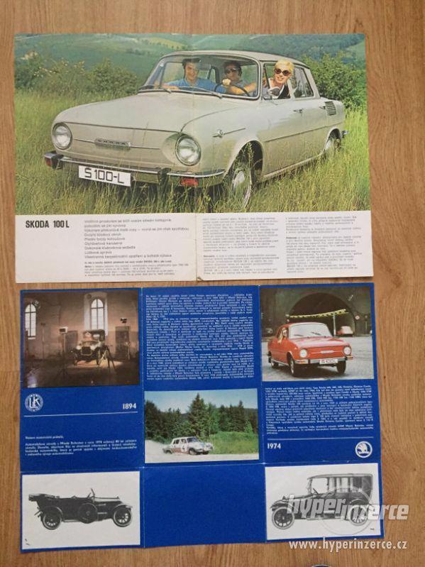 Škoda 100 katalog ND, díl. příručka, prospekty, ceny v textu - foto 4