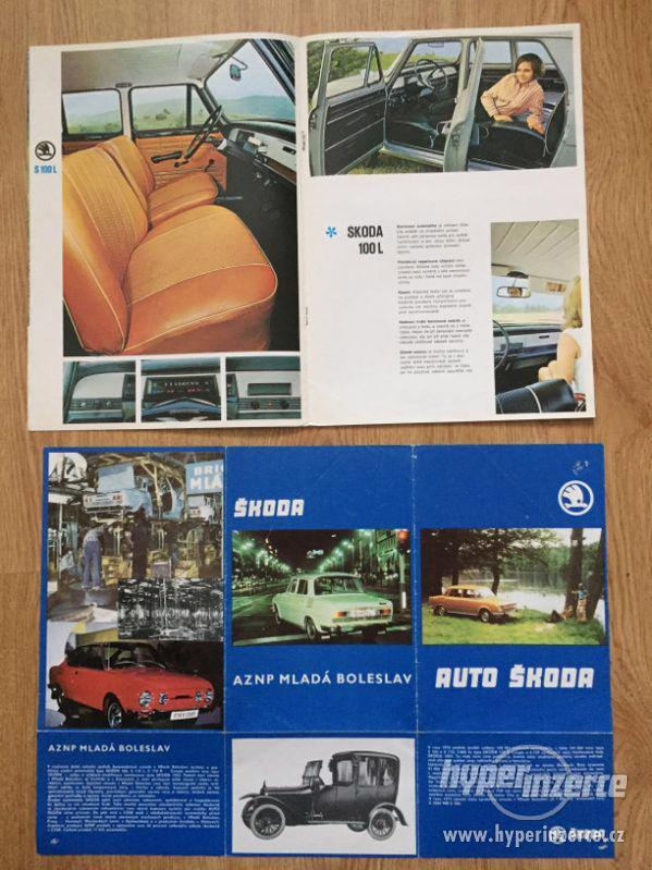 Škoda 100 katalog ND, díl. příručka, prospekty, ceny v textu - foto 5