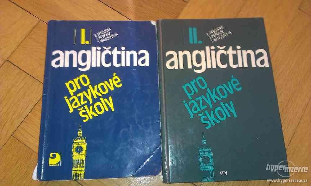 Učebnice angličtiny peo jazykové školy 1. a 2. díl