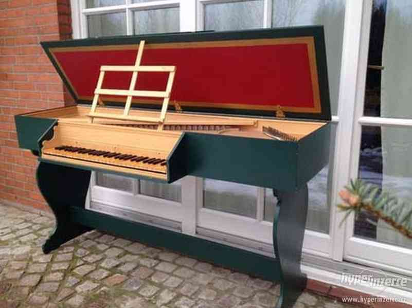 cembalo, spinet a virginal