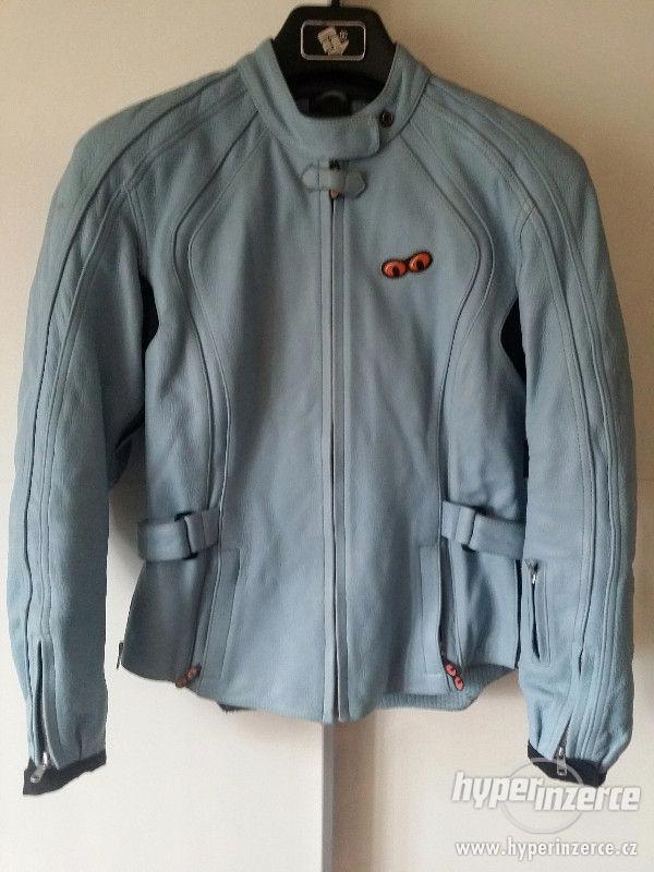 Dámská kožená bunda, velikost 38 - 40 - foto 1