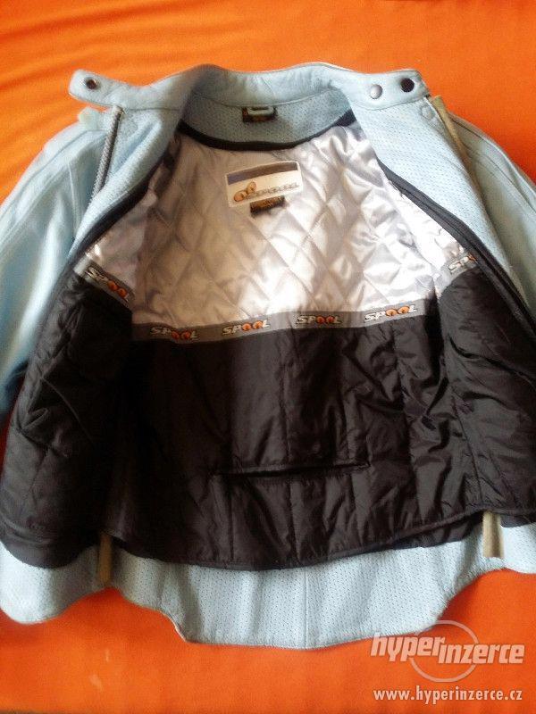 Dámská kožená bunda, velikost 38 - 40 - foto 2