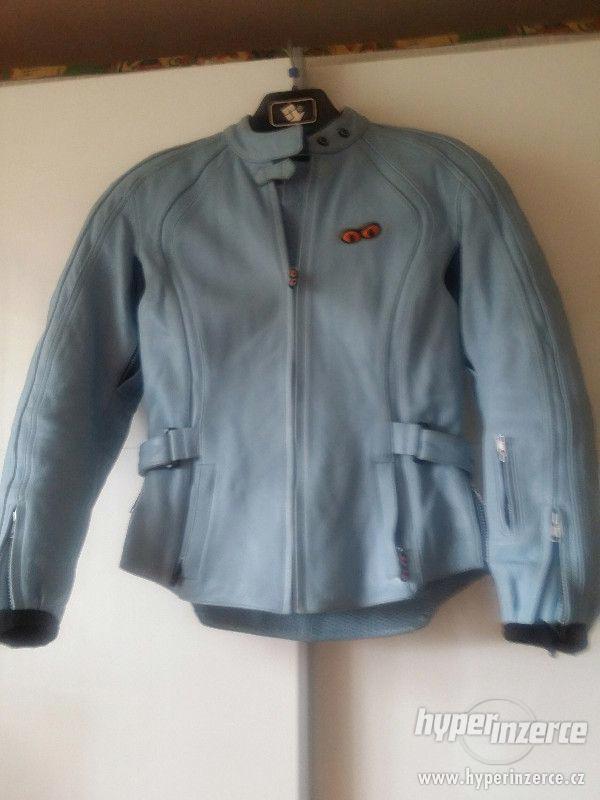 Dámská kožená bunda, velikost 38 - 40 - foto 4
