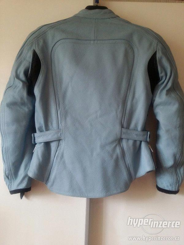 Dámská kožená bunda, velikost 38 - 40 - foto 5