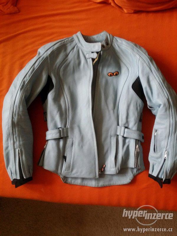 Dámská kožená bunda, velikost 38 - 40 - foto 6