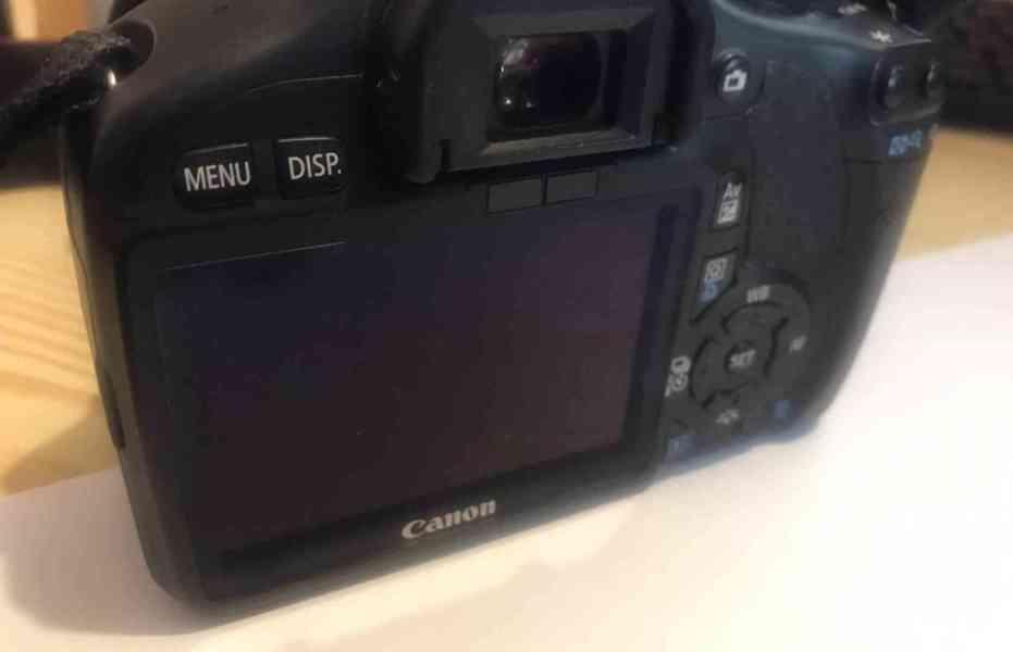 Canon EOS 550D + objektivy a příslušenství - TOP stav - foto 3