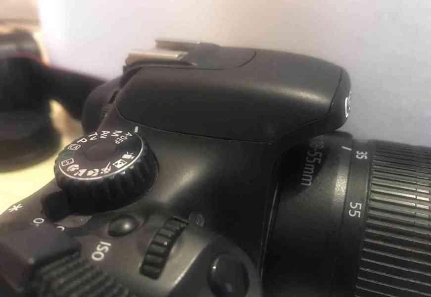 Canon EOS 550D + objektivy a příslušenství - TOP stav - foto 4
