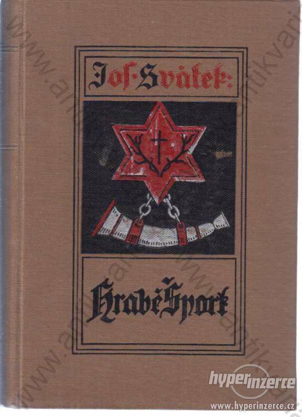 Hrabě Špork Josef Svátek 1927