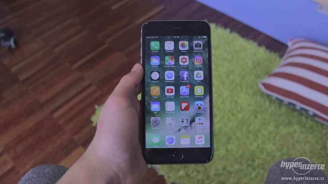 iPhone 6 Plus 64GB Space Gray + 7 krytů - foto 3