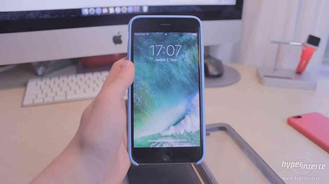 iPhone 6 Plus 64GB Space Gray + 7 krytů - foto 16
