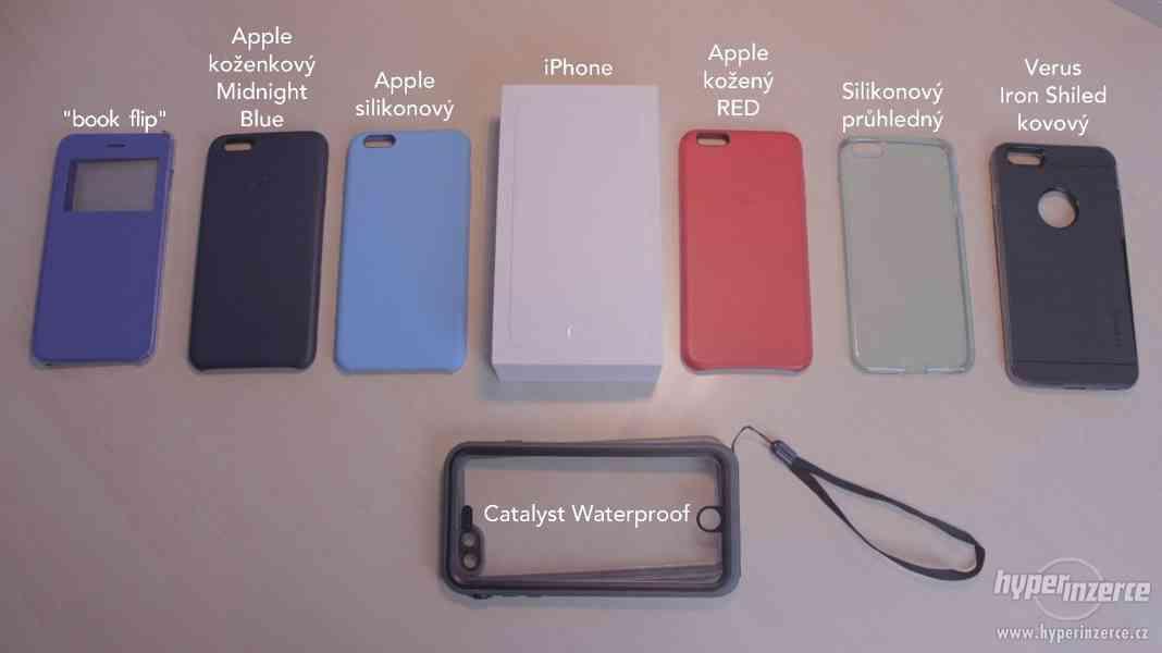 iPhone 6 Plus 64GB Space Gray + 7 krytů - foto 31
