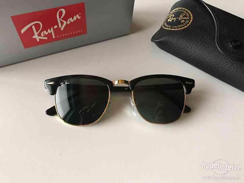 Sluneční brýle Ray Ban Clubmaster RB3016 - W0365