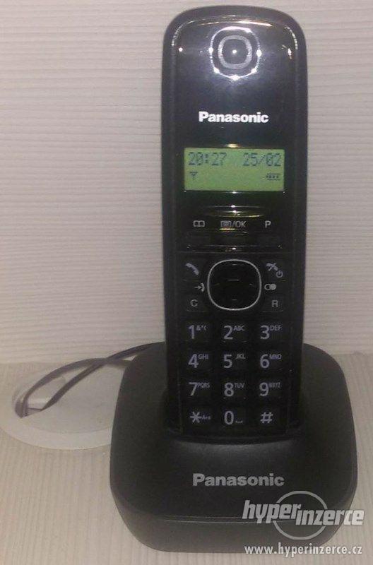 Voip bezdrátový telefon Panasonic KX-TG1611 - foto 1