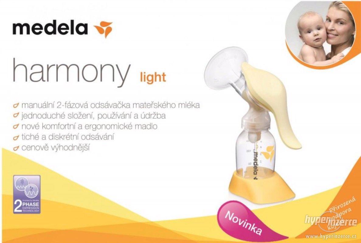 Medela Harmony Light 2 fázová manuální odsávačka - foto 1