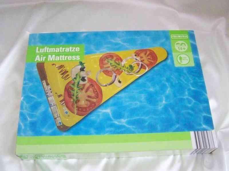 Nafukovací matrace Pizza-nové