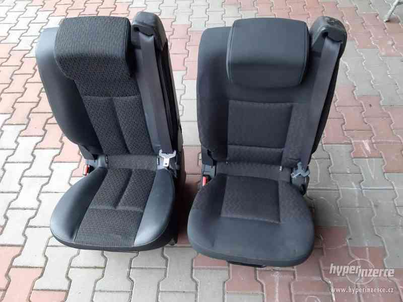 Renault espace sedacka sedadlo sedacky sedadla zadni 2010 es