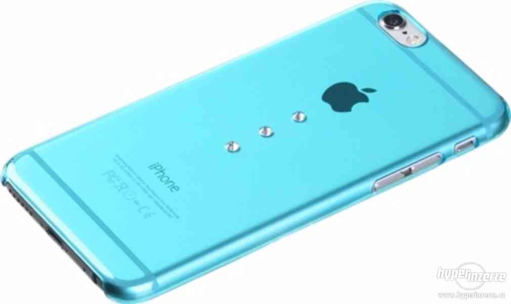 X-Fitted Crystal Hardness Drip pro iPhone 6/6s, modré