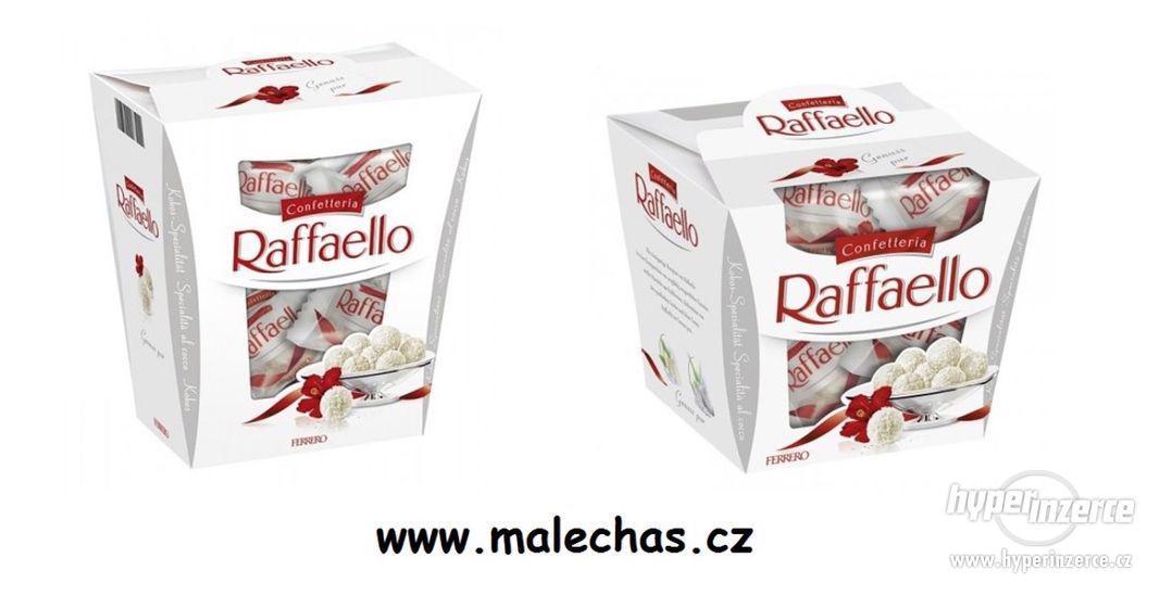 Raffaello - čokoládové bonbóny v kokosu.