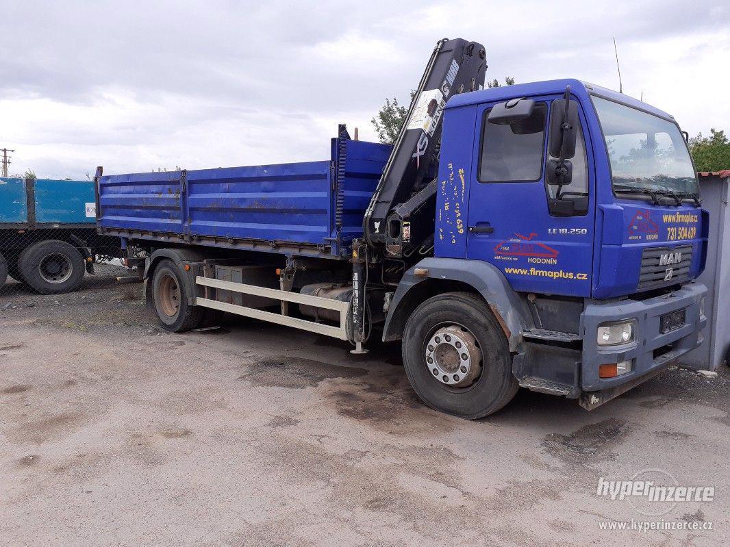 MAN LE18.250 nákladní sklápěčkové vozidlo s HR - foto 1